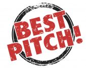 Best Pitch Convincing — Stock Photo