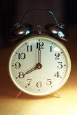Alarm clock closeup — Stock Photo