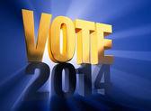 Vote 2014 — Stock Photo