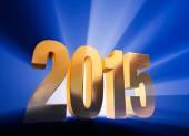 Bold, Shining 2015 — Stock Photo