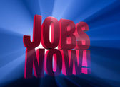 Jobs Now! — Stock Photo