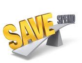 Save Big — Stock Photo