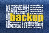 Backup and data recovery  — Stock Photo