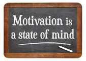 Motivation is a state of mind — Stock Photo