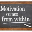 Постер, плакат: Motivation comes from within
