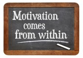 Motivation comes from within — Stok fotoğraf