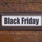 Black Friday file label — Stock Photo #52471383
