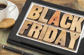 Black Friday shopping concept — Stock Photo