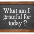 What am I grateful for today? — Stock Photo #54897935