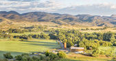 Colorado foothills panorama  — Stock Photo
