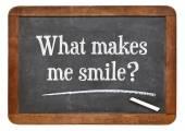 What makes me smile ? — Stock Photo