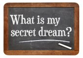 What is my secret dream ? — Stock Photo