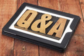 Questions and answers - Q&A — Stock Photo