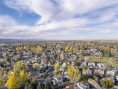 Fort Collins aerial view — Stock Photo