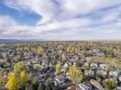 Vista aérea de fort collins — Foto de Stock
