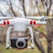 Постер, плакат: Airborne Phantom quadcopter drone