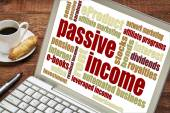 Passive income concept — Stock Photo