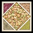 Fava bean tangram abstract — Stock Photo #59163989