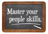 Master your people skills — Stock Photo