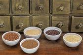 Gluten free grains — ストック写真