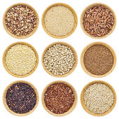 Gluten free grains — Stock Photo