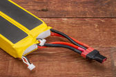 Lithium polymer batteries — Stock Photo