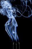 Incense smoke abstract — Stock Photo