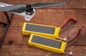 Lithium polymer batterieies — Stock Photo