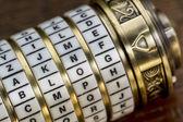 Blog word as password — Stock Photo