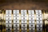 Jesus word as password — Stock Photo