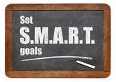 Set SMART goals — Stockfoto