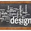 Graphic design word cloud — Stock Photo #63421139