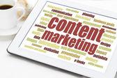 Content marketing  — Stock Photo