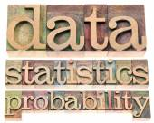 Data, statistics and probability — Stock Photo
