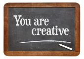 You are creative — Stock Photo
