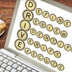 Define, Review, Identify, Verify, Execute - DRIVE — Stock Photo #67091781