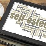 Self-esteem word cloud — Stock Photo #67267459