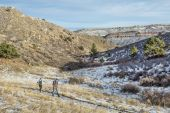 Hiking in Horsetooth Mountain Park — Stock Photo