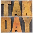 Tax day - financial concept — Stock Photo #69328021