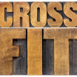 Crossfit word abstract — Stock Photo #69436391