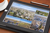 Aerial view of real estate in Fort Collins — Foto de Stock
