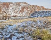 Winter at Red Mountain Open Space — Stock Photo