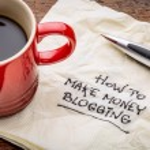 How to make money blogging — Stock Photo #73144181