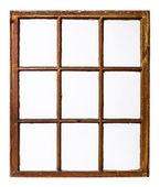 Vintage sash window panel — Stock Photo