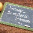 Necessity - the mother of invention — Stock Photo #74481453