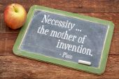 Necessity - the mother of invention — Stock Photo