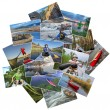 Collection of paddling pictures from Colorado — Stock Photo #78290534