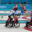Постер, плакат: Wheelchair curling