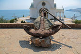 Old anchor — Stock Photo