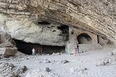 Grotto Golitsyn — Stock Photo